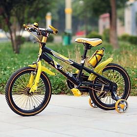 Xe đạp thể thao địa hình Xaming bánh 18 inch cho bé 6-8 tuổi Tặng kèm dầu tra xích nhập khẩu (Giao màu ngẫu nhiên)
