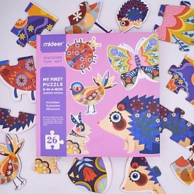 My First Puzzle - Ghép hình cho trẻ mới bắt đầu 2+ chính hãng Mideer - 7 chủ đề