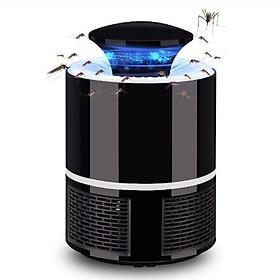 Máy bắt muỗi và diệt côn trùng UV LED Mosquito Killer - Light Controll cao cấp (đen) tặng kèm 2 gương mini