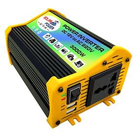 Bộ chuyển đổi biến tần ô tô Peaks Power 3000W