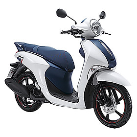 Xe Máy Yamaha Janus Limited Premium - Trắng Xanh