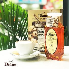 Cặp gội/xả Moist Diane Extra Straight giúp vào nếp, suôn mượt Hàn Quốc (2x450ml) - Dành cho tóc khô,quăn tặng kèm móc khoá-2