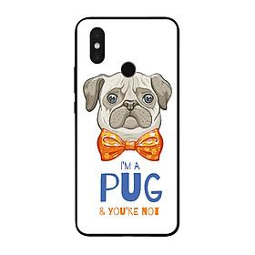 Ốp lưng dành cho điện thoại Xiaomi Mi in họa tiết Tôi là PUG và bạn thì không