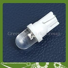 Đèn led báo số xi nhan chân T10 loại chân ghim gắn cho xe máy Green Networks Group ( 1 bóng )