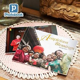 """Photobook: Voucher quà tặng in album ảnh bìa mềm chiều ngang cỡ nhỏ 8"""" x 6"""" (20 x 15cm) theo yêu cầu"""