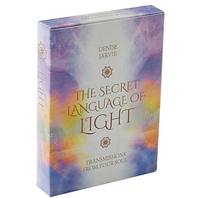 Bộ Bài Bói Tarot Secret Language of Light Oracle Đẹp New