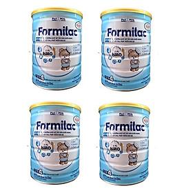 Bộ 4 Lon Sữa công thức Formilac Optipro số 4 (trên 2 tuổi) - 900g