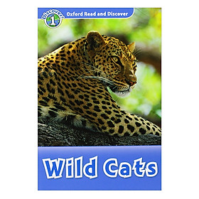 Oxford Read and Discover 1: Wild Cats Audio CD Pack
