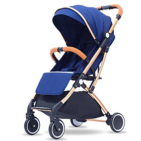 Xe đẩy du lịch siêu nhẹ hợp kim nhôm chịu lực, xe đẩy em bé, xe đẩy gấp gọn