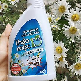 Xịt thảo mộc tiêu diệt và xua đuổi côn trùng - 10s (chai 450ml)