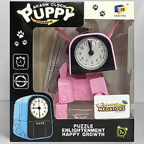 Đồng hồ để bàn - Biến hình Chú chó tinh nghịch D622-H074A
