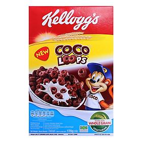 Ngũ Cốc Ăn Sáng Kellogg's Coco Loops 170g