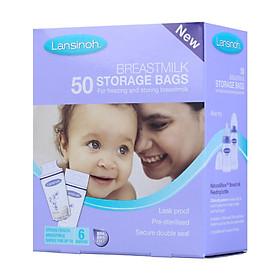 Túi Đựng Sữa Mẹ US Lansinoh (Hộp 50 Túi)