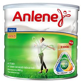 Sữa Bột Anlene Gold Movepro Hương Vanilla (Hộp Giấy 440g)