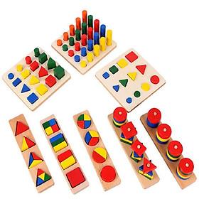 Bộ giáo cụ Montessori 8 món - TotdepreHH1045