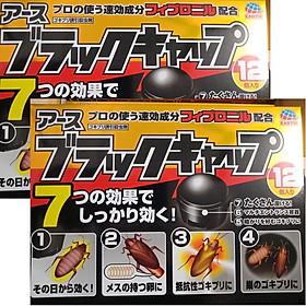 Combo 02 hộp viên diệt gián nhanh chóng hàng nội địa Nhật Bản (12 viên/ hộp)