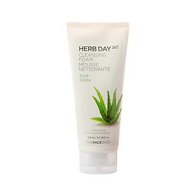 Herb Day Cleansing Foam, Aloe