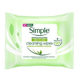 Khăn Giấy Tẩy Trang Simple (25 Tờ) - 5011451103979