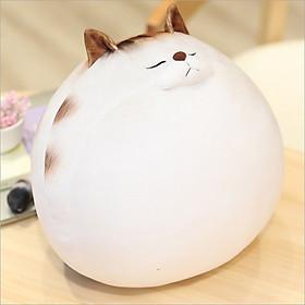 Gấu bông mèo béo, gấu bông sang trọng, đồ chơi thú bông cực đáng yêu chất liệu vải nhung co dãn nhồi bông gòn cao cấp