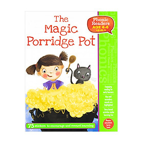 Phonic Readers Age 4-6 Level 3: The Magic Porridge Pot