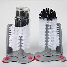Dụng cụ cọ rửa ly cốc 2 mặt siêu tiện lợi