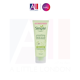 Tẩy Da Chết Simple Kind To Skind Smoothing Facial Scrub - 75ml