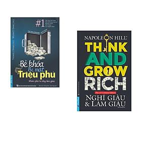 Combo 2 cuốn sách: Bẻ Khóa Bí Mật Triệu Phú + Nghĩ Giàu & Làm Giàu