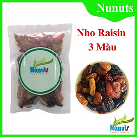 Nho khô thập cẩm Chile ( gói 100g) , ngọt tự nhiên, không tẩm ướp đường , ăn vặt cực ngon Nunuts .