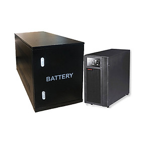 Bộ lưu điện Santak True Online 10KVA - Model C10KS-LCD (Ắcquy ngoài)- hàng chính hãng