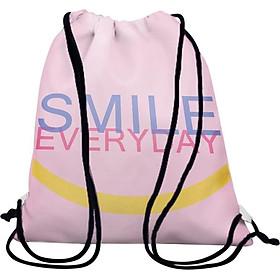 Túi Dây Rút Unisex In Hình Smile Everyday - BDTE088