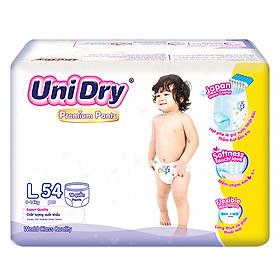 Tã Quần UniDry Premium L54 (54 Miếng)