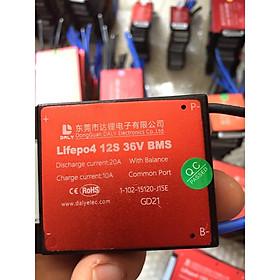Mạch bảo vệ pin xe điện lithium BMS lifePO4 12S 36V 20A