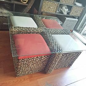 Bộ bàn, ghế cafe 2 trong 1