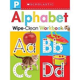 Scholastic Early Learners Wipe Clean Wbk - Pre-K: Alphabet