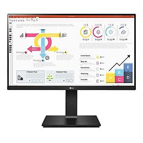 Màn hình máy tính LG QHD 23.8'' IPS 24QP750-B Hàng Chính Hãng