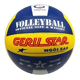 Bóng chuyền cao su 3 màu Gerustar V4 (Tặng Băng dán thể thao + Kim bơm + Lưới đựng)