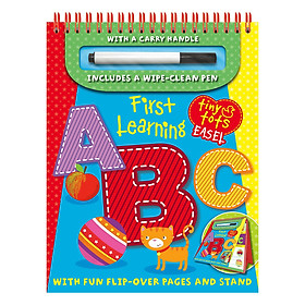 Tiny Tots Easel First Learning : ABC (Includes a wipe-clean Pen)