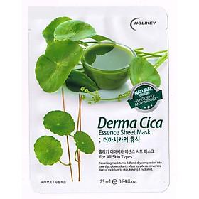 10 miếng mặt nạ dưỡng ẩm, ngừa mụn và trắng da, mờ thâm Holikey Demar Cica - Hàn Quốc Chính Hãng