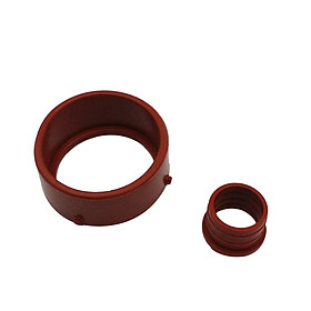 Turbo & Breather Intake Seal Kit Red for Mercedes-Benz OM642