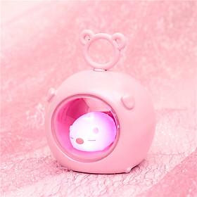 Đèn Ngủ Để Bàn Chú Lợn Hồng Dễ Thương