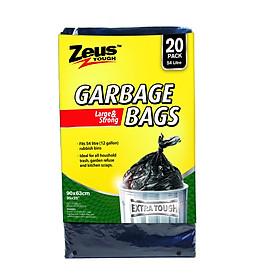 Túi đựng rác dung tích lớn 54 lít (bộ 20 cái) Uncle Bills BC0012