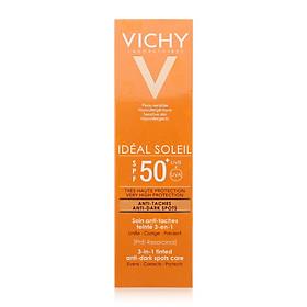 Vichy Kem Chống Nắng Ngăn Sạm Da & Giảm Thâm Nám Chống Tia UVA & UVB Ideal Soleil Anti Dark Spot SPF50 50ml