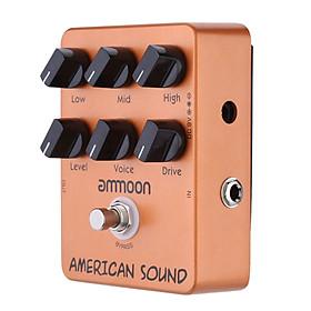 Phơ Cục Guitar Giả Lập Amp ammoon AP-13 American Sound True Bypass