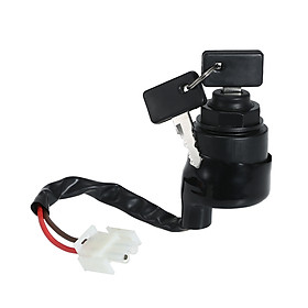 Replacement for Yamaha Golf Cart Ignition Key Switch & Keys Gas Or Electric G11 G16 G21 96-04 JN8-82510-09