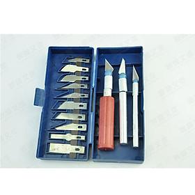 Bộ dụng cụ dao khắc cầm tay đa năng 13in1 ( Tặng miếng thép sửa chữa 11 chức năng )