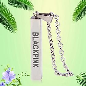 Dây chuyền mặt chữ Blackpink