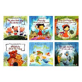 Bộ sách Truyện Cổ Tích Nổi Tiếng Song Ngữ Việt - Anh (Bộ 06 Cuốn) - Tặng kèm sổ tay