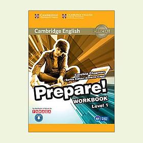 Cambridge English Prepare! Level 1 Workbook With Audio - Reprint