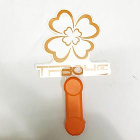 Lightstick tfboys đèn phát sáng bản mỏng màu cam gậy cổ vũ ánh sáng hòa nhạc phát sáng nhóm nhạc idol Hàn quốc tặng ảnh thiết kế vcone