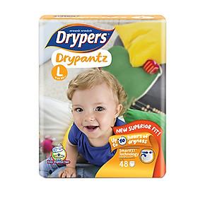 Tã Quần Drypers Drypantz Cực đại L48 (48 Miếng)-0